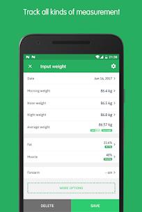 Weight Track Assistant Pro v3.11.0 MOD APK 3