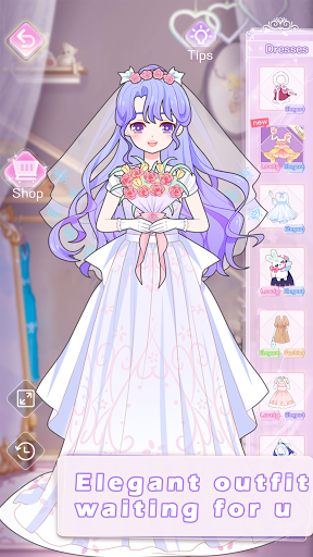 Vlinder Princess2uff1adoll dress up games,style avatar 1.1.32 screenshots 15