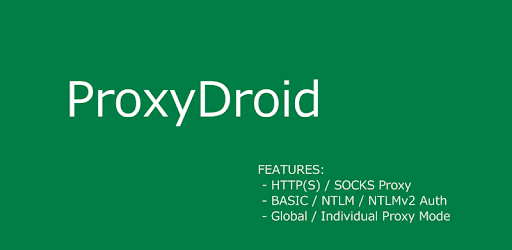 ProxyDroid - Apps on Google Play