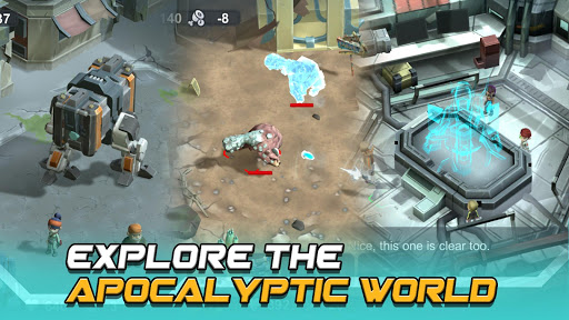 Strange World - Offline Survival RTS Game android2mod screenshots 5
