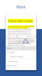 Microsoft Word: Write, Edit & Share Docs on the Go 3