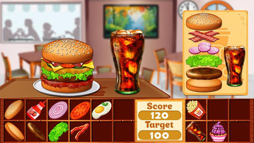 Fast Food  Cooking and Restaurant Game android2mod screenshots 4