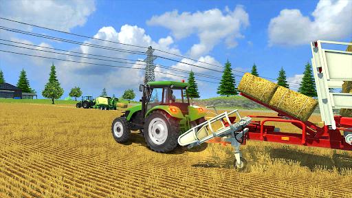 Real Farm Town Farming tractor Simulator Game 1.1.7 screenshots 4