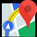 カーナビ、交通マップ、経路案内