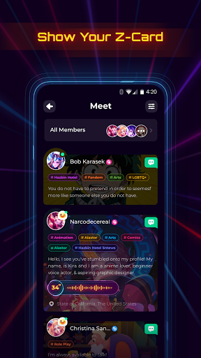 Project Z: Chat, Roleplay and Make new friends 1.7.2 screenshots 2