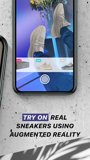 Wanna Kicks : AR sneakers try on  Screenshots 2