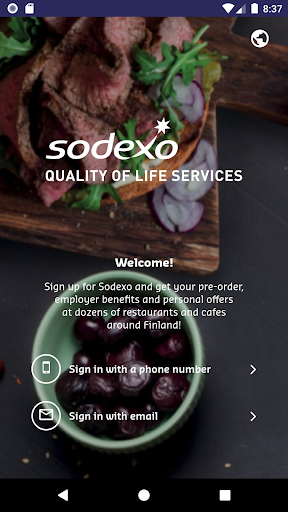 MySodexo 5.2.7 Screenshots 1