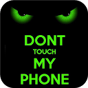 Green Dont Touch My Phone Theme