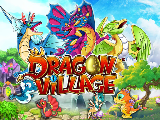 DRAGON VILLAGE -city sim mania modiapk screenshots 1