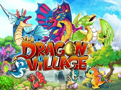 DRAGON VILLAGE Mod Apk -city sim mania (Food/Gems/Coins) 1