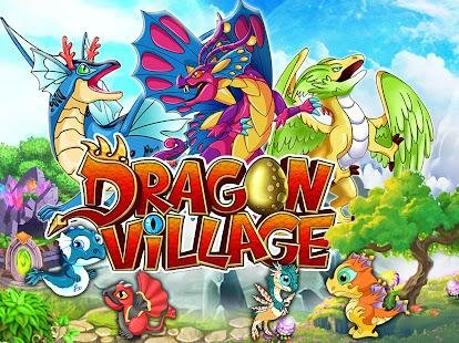 DRAGON VILLAGE -city sim mania 12.06 APK + Мод (Unlimited money) за Android