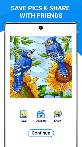 Happy Canvasu2122 - Color by Number Book 2.1.2 screenshots 5