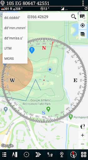 Mgrs & Utm Map apktram screenshots 2