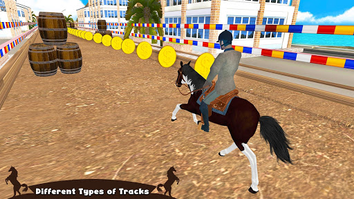 Horse Riding Simulator 3D : Jockey Mobile Game apktram screenshots 3