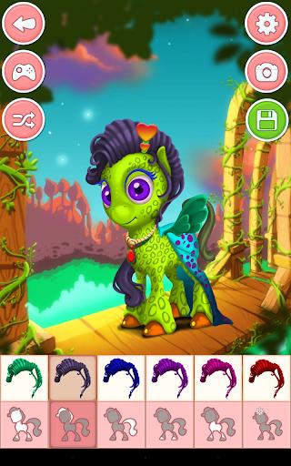 Unicorn & Pony Dress up Games 4.0 screenshots 10