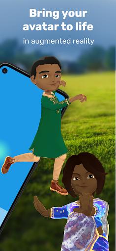 Krikey: Create 3D Avatar + Play AR Games! android2mod screenshots 2