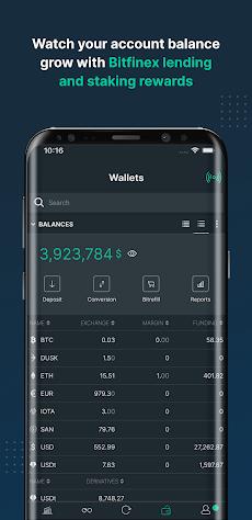 Bitfinex: Trade Bitcoin & Digital Assetsのおすすめ画像4