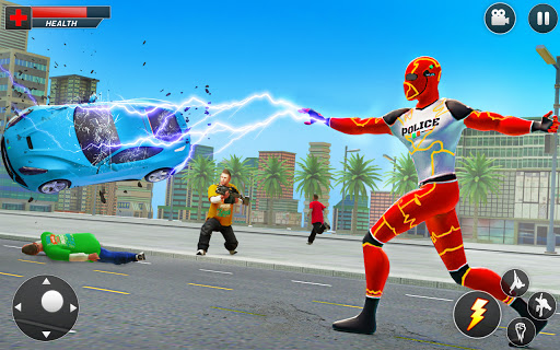 Top Speed Hero Police Robot Cop Gangster Crime 3.2 screenshots 8