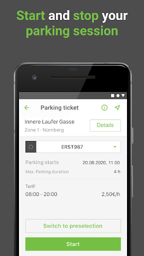 PayByPhone Parking - Park Easy Now & Smart 9.4.1 Screenshots 5