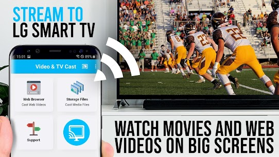 TV Cast   LG Smart TV | HD Video Streaming Apk 1