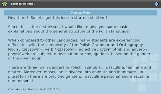 L-Lingo Learn Polish