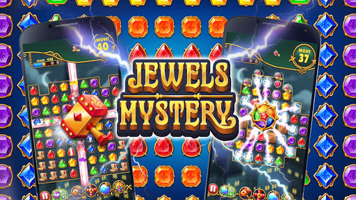 Jewels Mystery: Match 3 Puzzle apkslow screenshots 24