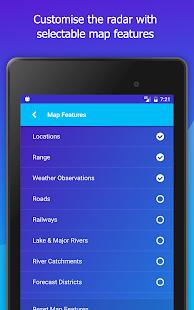 AUS Rain Radar - Bom Radar and Weather App