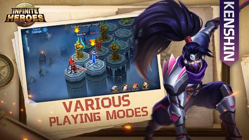 Infinite Heroesuff1aldle RPG game Apkfinish screenshots 6