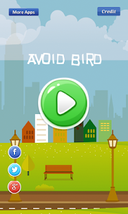 Avoid Bird -avoid falling bird Screenshot