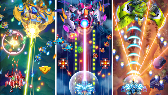Galaxy Strike B52: Space Shooter War Defense 1945. Online Hack Android & iOS 2