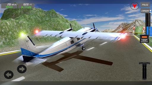 Extreme Airplane simulator 2019 Pilot Flight games 4.3 screenshots 4