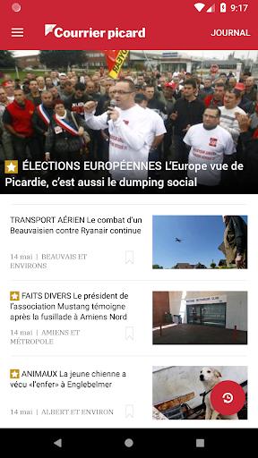 Courrier Picard : l'info locale, France et monde 5.19.2 screenshots 1