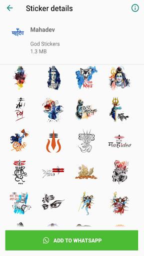 All God Stickers screenshots 1
