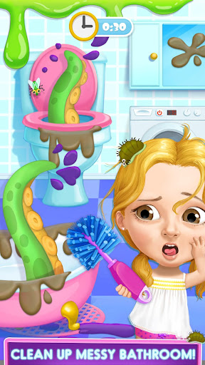 Sweet Baby Girl Hotel Cleanup - Crazy Cleaning Fun  screenshots 3