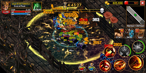Death Dungeon : Demon Hunting RPG 1.8.74 screenshots 2