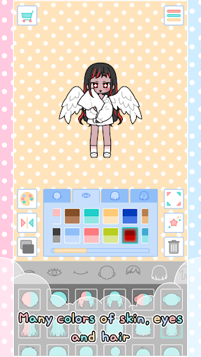 Pastel Friends : Dress Up Game 1.3.1 Screenshots 5