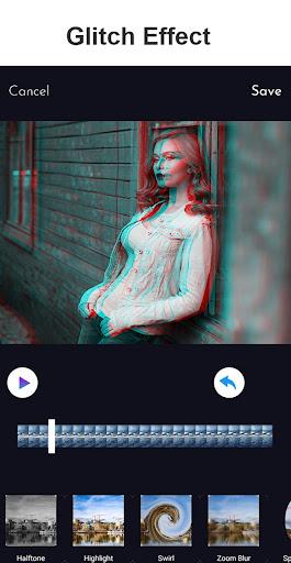 Glitch Video Effect - Magic Effect Video Maker 2.6 screenshots 1