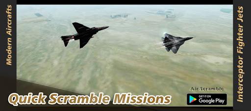 Air Scramble : Interceptor Fighter Jets  screenshots 1