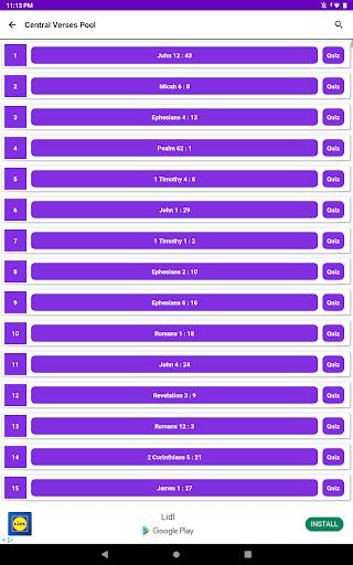 Bible Verses Memorisation Game - KJV - Offline apkmr screenshots 14