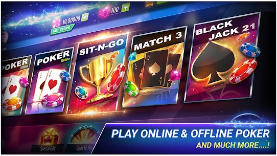 Poker Offline MOD (Unlimited Chips/Money) 1