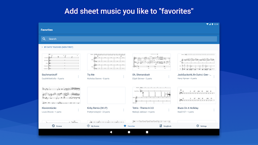 MuseScore: view and play sheet music android2mod screenshots 14