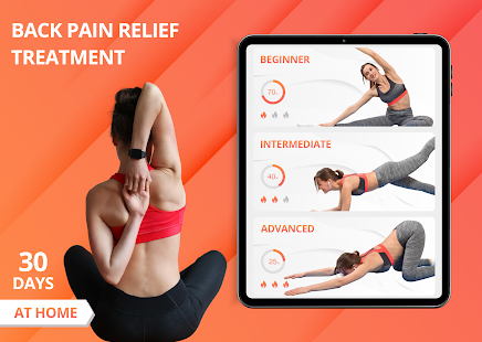 Back Pain Relief Treatment – Yoga Exercise at Home