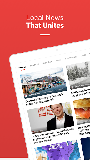 News Break: Local Breaking Stories & US Headlines  Screenshots 7