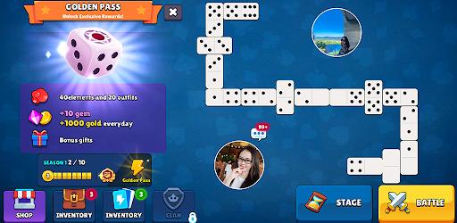 Dominoes - 5 Boards Game Domino Classic in 1  screenshots 1