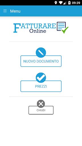 fatturareonline - fatturazione elettronica screenshot 1