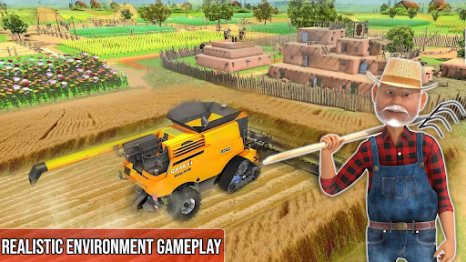 Pak Tractor Cargo 3D Farming  screenshots 1