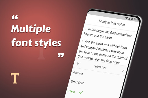 King James Bible (KJV) - Free Bible Verses + Audio android2mod screenshots 24
