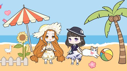 YOYO Doll - dress up games, avatar maker Apkfinish screenshots 1