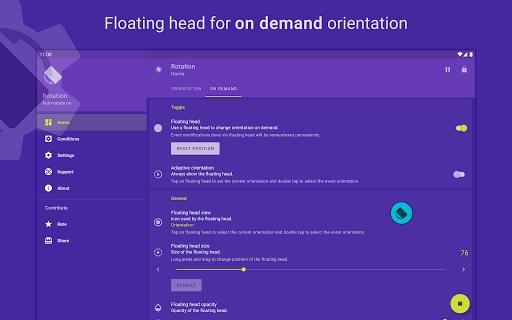 Rotation | Orientation Manager apktram screenshots 18