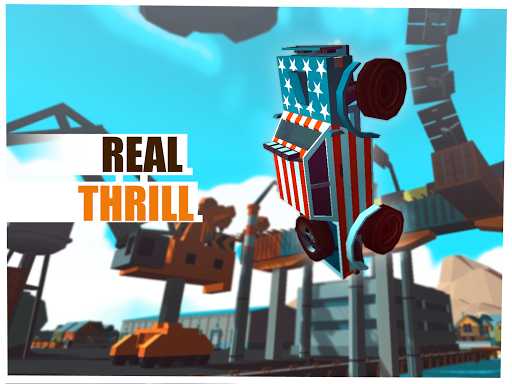 Skill Test - Extreme Stunts Racing Game 2020 screenshots 9